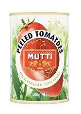 Tomates Pelées 400G - Paquet de 4 Mutti