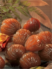 Marrons glacés Photo : © Mermoud