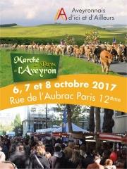 Marché des Pays de l'Aveyron du 06 au 08 octobre 2017 dans le quartier de Bercy (Village)