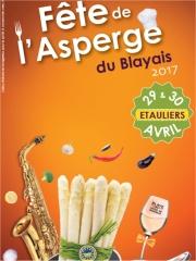 Fête de l'Asperge du Blayais à Etauliers les 29 et 30 avril 2017