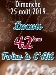 Foire à l'Ail de Locon - le dimanche 25 août 2019