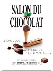 Salon du chocolat 2013 du 30 octobre au 3 novembre 2013 - Invitation gratuite salon du chocolat ...