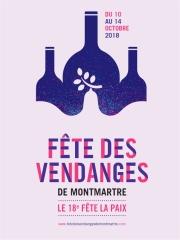 Fête des Vendanges à Montmartre du 10 au 14 octobre 2018