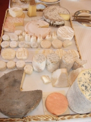 Un plateau de fromages Photo : © Patrick Neveu / Cooking2000