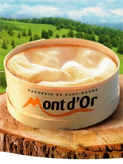 Mont d'or ou Vacherin du Haut Doubs Photo : © Mont d'Or