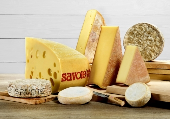 Les 8 Fromages de Savoie Photo : © AFTalp / Laurent Madelon