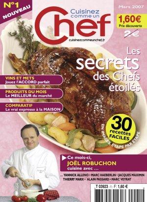 Cuisinez comme un chef n 8 la cuisine des chefs for Cuisinez comme un chef