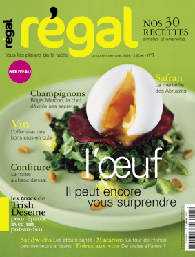 Couverture n°1 du magazine Régal