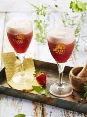 Recette Cocktail de Bière de Printemps, Fraises, Poivre et Basilic