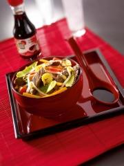Recette Boeuf et Légumes sautés à la Sauce Soja