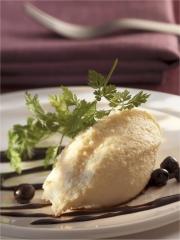 Recette Mousseline de céleri-rave à la crème de cassis
