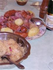 Recettes base de choucroute - Recettes cuisine alsacienne traditionnelle ...