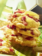 Cookies aux Lardons et Beaufort Photo : � Beaufort