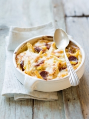Recette Gratin de macaroni au Reblochon