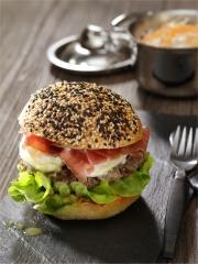 Recette Hot burger au Tabasco vert