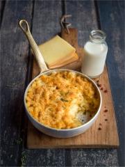 Mac & Cheese à la Raclette Photo : © Stéphanie Iguna @Geekandfood