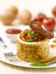 Recette Omelette aux saveurs du Pays Basque
