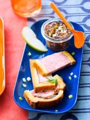 Recette Pâté en croûte et son chutney pommes-figues