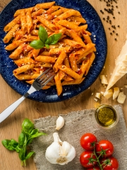 Penne All'Arrabbiata Photo : © Julien Rambaud