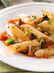 Penne Rigate aux L間umes M閐it閞ran閑ns et Herbes Fra頲hes Photo : � Barilla