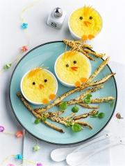 Recette Poussins crèmes parmesan