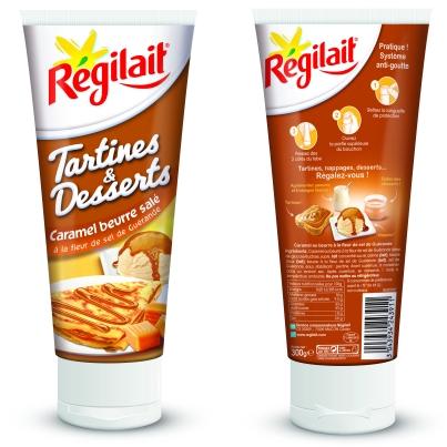R gilait caramel au beurre sal for Regilait cuisine