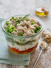 Recette Rillettes de lapin et légumes d'été