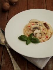 Risotto de Bella Rosés et Piments Doux Photo : © Cuisine de tous les jours