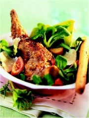 Recette Salade Caesar au lapin