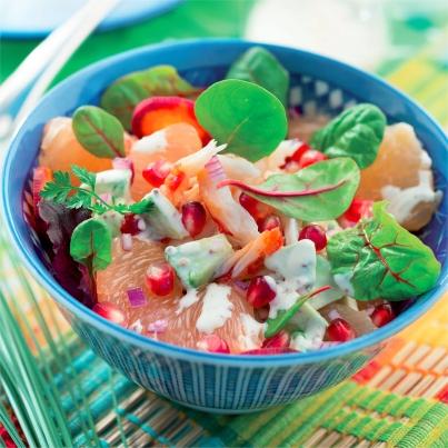 Salade de crabe et sauce à la crème Photo : © Patricia Kettenhofen / Elle&Vire