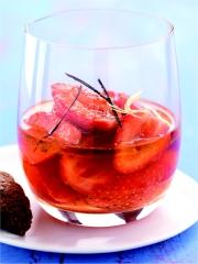 Recette Salade de fraises à l'huile d'olive des Baux-de-Provence AOP