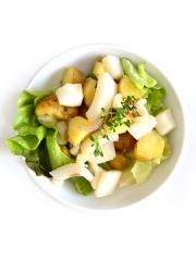 Salade de seiche et pommes de terre de l'île de Ré Photo : © Pomme de Terre de primeur de l'Ile de Ré