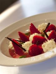 Recette Soupe de fraises à la crème selloise