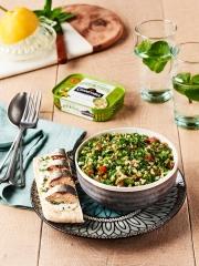 Recette Taboulé Libanais et sardines sans arêtes huile d'olive vierge extra