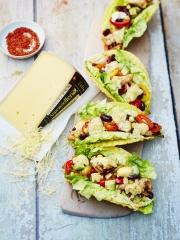 Tacos au poulet mariné et à l'Appenzeller® Photo : © Fromages de Suisse