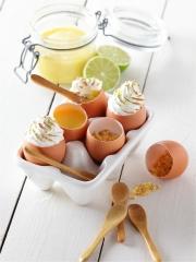 Recette Tarte au Citron Meringuée en Coquille d'Oeuf Bio