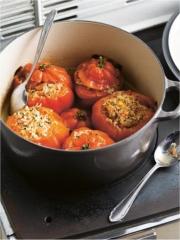 Recette Tomates Coeur de Boeuf farcies au Crabe