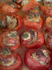 Recette Tomates farcies Photo : © Cooking2000
